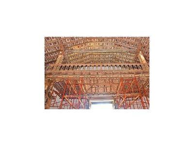 MOPC firma  contrato para que se restaure templo de  Yaguarón