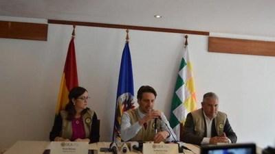 La OEA expresa su «preocupación y sorpresa» por el cambio en el cómputo electoral en Bolivia