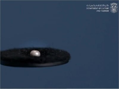 Hallan una perla de 8.000 años en Emiratos Árabes