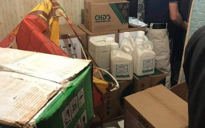 Recuperan insecticidas que fueron robados
