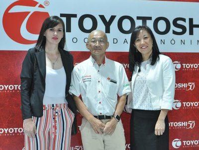 Toyotoshi abre nuevo local en Asunción