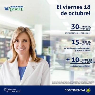 Banco Continental y Asismed Drugstore se alían a favor de sus clientes