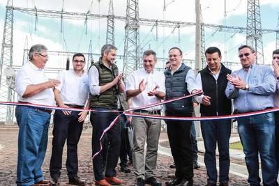 Gobierno habilitó subestación Itakyry que beneficiará a cerca de 365.000 usuarios de cuatro departamentos