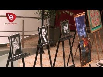MUESTRA PICTÓRICA:  EXPOSICIÓN COLECTIVA DE ARTISTAS DE ITAPUA EN LA UNAE