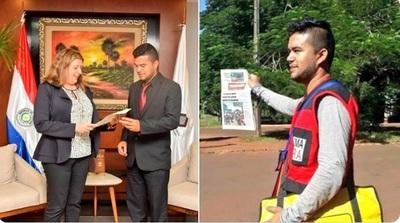 Ministerio Público incorpora a canillita graduado en criminalística