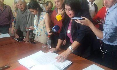 Aprueban pedido de intervención a Municipalidad de Lambaré