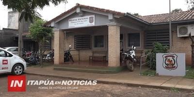 FUE A PASEAR EN UNA MOTOCICLETA QUE ACABABA DE HURTAR Y TERMINÓ PRESO