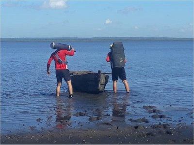 Infructuosa búsqueda del joven desaparecido en el lago Ypacaraí