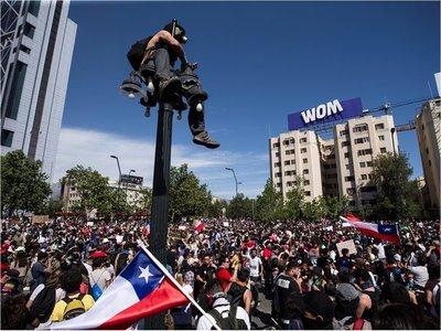 Cuatro víctimas de las protestas en Chile murieron a manos de militares