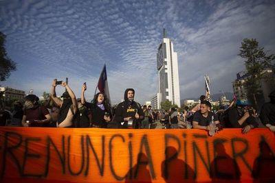 Piñera pide perdón por su falta de previsión ante estallido social en Chile