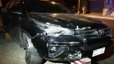 HOY / Tres heridos tras accidente frontal en el microcentro
