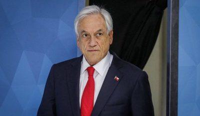 """Habló Piñera: reconoce incapacidad política y echa por tierra """"conspiración bolivariana"""" (video)"""