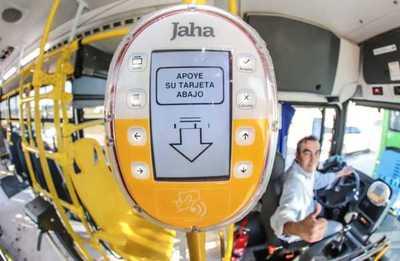 Funciona desde hoy el Billetaje Electrónico en buses de Asunción y Área Metropolitana
