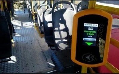 Billetaje electrónico en buses rige desde este miércoles
