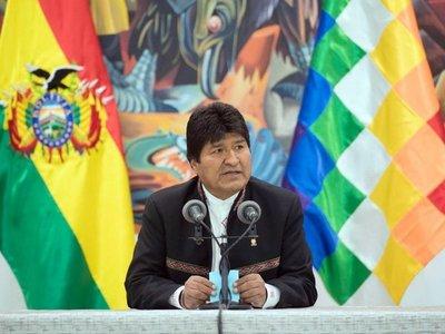 Evo Morales a pocas décimas de ganar las elecciones en Bolivia