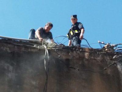 Mercado: Principio de incendio fue por cables sobrecargados