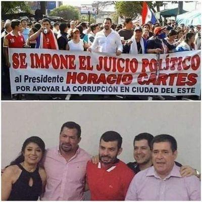 Ulises Quintana: ayer pedía juicio político para HC, hoy socializa con él