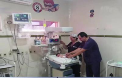 HOY / Bebé abandonada en San Lorenzo está internada y necesita ayuda