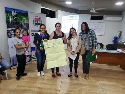 Funcionarios municipales y pobladores de Caaguazú se forman para fortalecer su despempeño sociolaboral