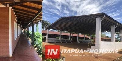 CULMINARON OBRAS DE MEJORAS EN ESCUELA AGRÍCOLA CARLOS A. LÓPEZ