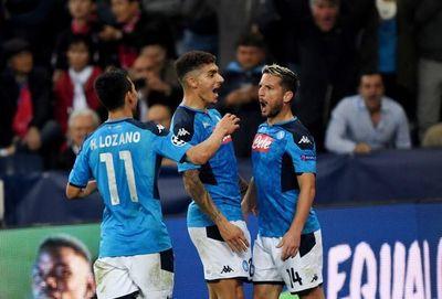 Un Napoli más efectivo castiga al Salzburgo