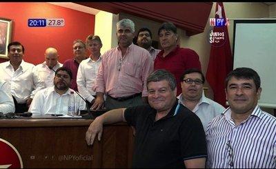 Seccionaleros colorados  buscan reelección presidencial