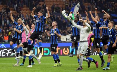 Inter consigue una victoria clave ante el Borussia Dortmund