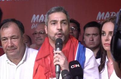 "Seccionaleros pedirán reelección de Mario Abdo ""si él lo desea"""