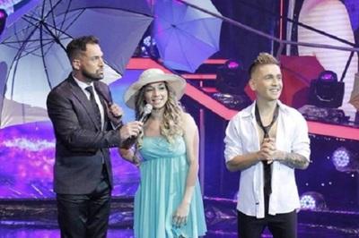 "Marilina se presentó a bailar bajo la lluvia pese al ""pánico al agua"""