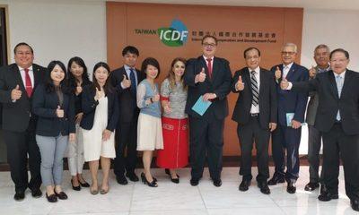 Vaesken logra con Taiwán importantes convenios