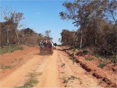Fiscal suspende construcción de caminos en Maracaná