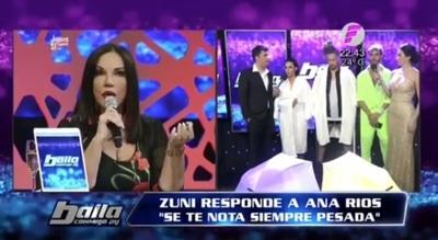 "Zuni Castiñeira a Ana Ríos; ""vos siempre estas pesada"""