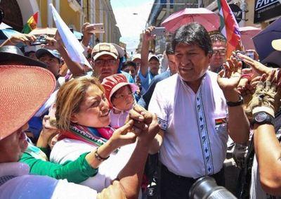 Morales dice que su victoria «es constitucional» frente a denuncias de fraude