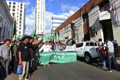 Federación Nacional Campesina anuncia nueva movilización para el lunes 28