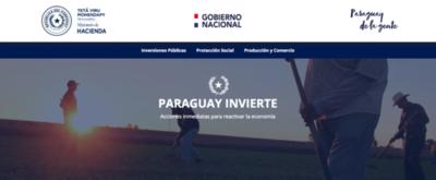 """""""Paraguay Invierte"""", plataforma para monitorear las inversiones"""