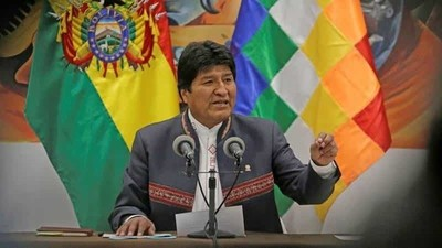 Bolivia: confirman victoria  de Evo Morales