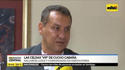 """Las celdas """"Vip"""" de cucho Cabaña"""