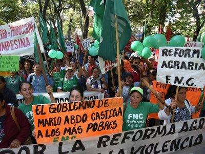 FNC responsabiliza al Gobierno de eventual violencia en movilización
