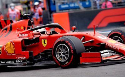 Vettel presiona fuerte