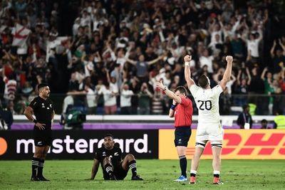 ¡Inglaterra eliminó a los All Blacks!