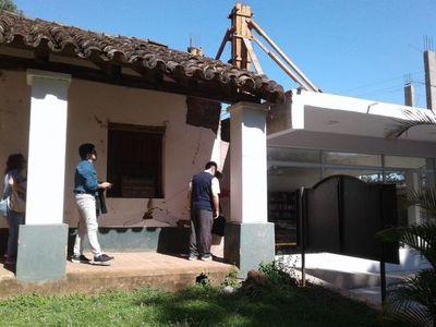 Verifican daños al patrimonio cultural de San Ignacio