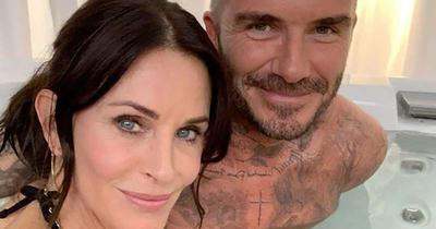David Beckham y Courteney Cox estarán juntos en la última temporada de Modern Family