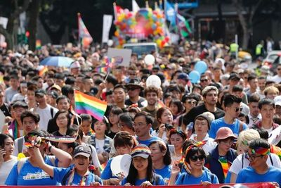 Unas 200.000 personas marchan en Taiwán en el Orgullo más icónico de Asia