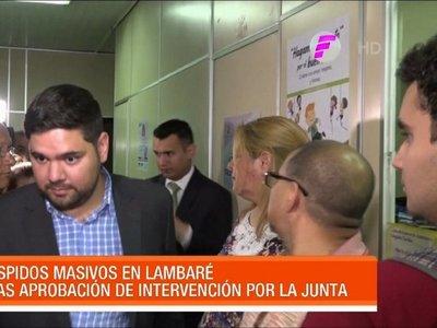 Denuncian masivos despidos en la Municipalidad de Lambaré
