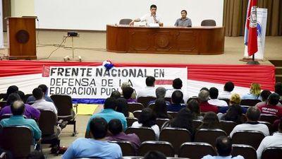 Preparan protestas contra los recortes en Educación