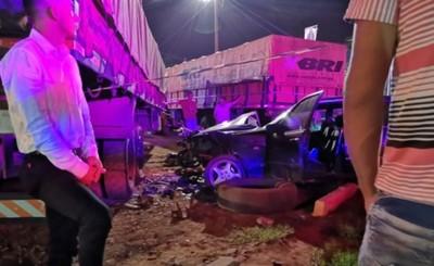 Motociclista muere tras chocar por un vehículo