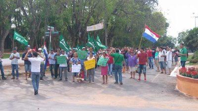 Campesinos se concentrarán en plaza céntrica y no cerrarán calles
