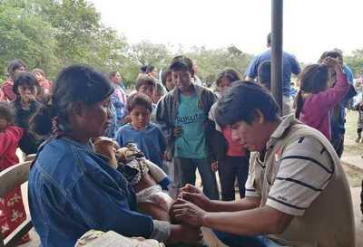 Asistencia permanente en salud a comunidades indígenas chaqueñas
