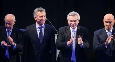 Macri y Alberto Fernández desayunan tras la victoria electoral del segundo