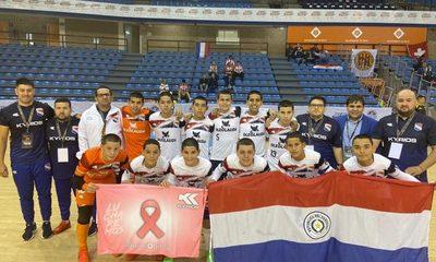 Paraguay  basureó a Suiza